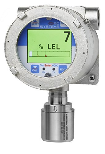 SenSmart 6000 Fixed Gas Detector in 316 Stainless Steel Enclosure with Electrochemical SO2 0-100ppm