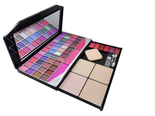 Mars Makeup Kit (48 Eyseshadow, 3 Blusher, 4 Compact Powder, 6 Lip Color, 1 Mirror, 1Puff) (Best Blusher Brand In India)