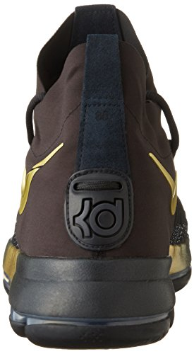Fury blue Black Basketball Men's 9 NIKE Tour Shoe Zoom KD Yellow Pvqc1S
