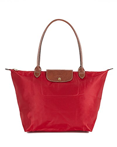Longchamp Le Pliage Large Tote - Deep Red ()