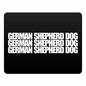 Eddany German Shepherd Dog three words Plastic Acrylic