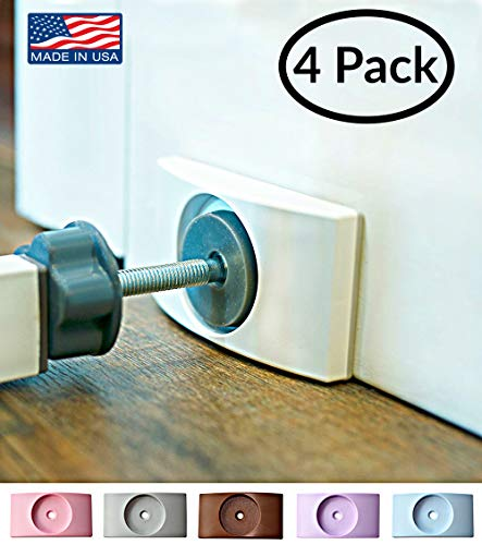 : Wall Nanny - Baby Gate Wall Protector (Made in USA) Protect Walls & Doorways from Pet & Dog Gates - for Child Pressure Mounted Stair Safety Gate - No Safety Hazard on Bottom Spindles - Saver