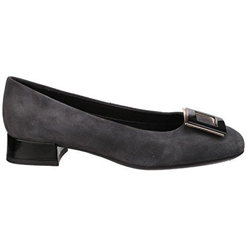 THE FLEXX Las bailarinas zapatos con tacones B252_04 ASFALTO Asfalto