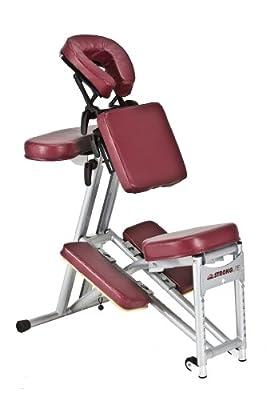 Stronglite Ergo Pro Portable Massage Chair - Burgundy