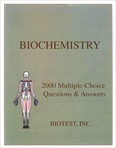 medical biochemistry multiple choice questions and answers