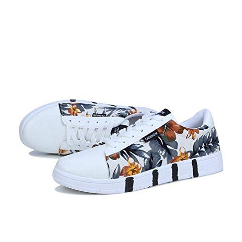 予備プラスチック目の前の[イノヤ]通気性 メンズ キャンバスシューズ メンズ スケートボードシューズ 夏 白の靴 メンズ レースアップシューズ カジュアル靴 デッキシューズシューズ アウトドア ローカット スニーカー 学生 白色