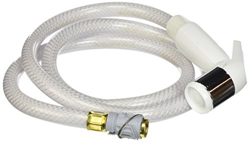 Delta Faucet RP39364 White with Chrome Band Spray and Hose Assembly, White by DELTA FAUCET