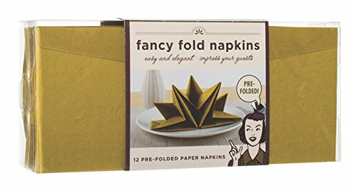 Party Partners PP FN1009-B 72 count Fancy Pre-Folded Pape...