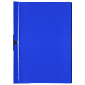 Farbe Cliphefter DIN A4 Klemmhefter Bewerbungsmappe dunkelblau