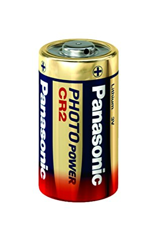 Panasonic Photo Lithium Battery CR-2 Nickel-Oxyhydroxide (NiOx) 3V batería no-Recargable - Pilas (Óxido de níquel (NiOx),...