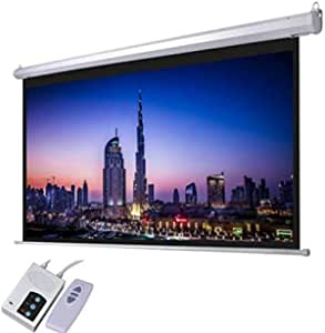 AES100D (100 Inch Diagonal Electric Screen 200x152cm with RF Remote, 4: 3 Ratio, HD fabric)