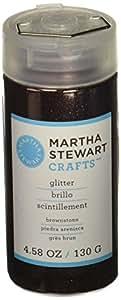 Martha Stewart Crafts Fine Glitter, Brownstone, 4.58 Ounces