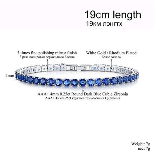 Lovesex Bracelets Bangle Chains Strand Bracelets for Women BUB0097,sapphirecolor19cm