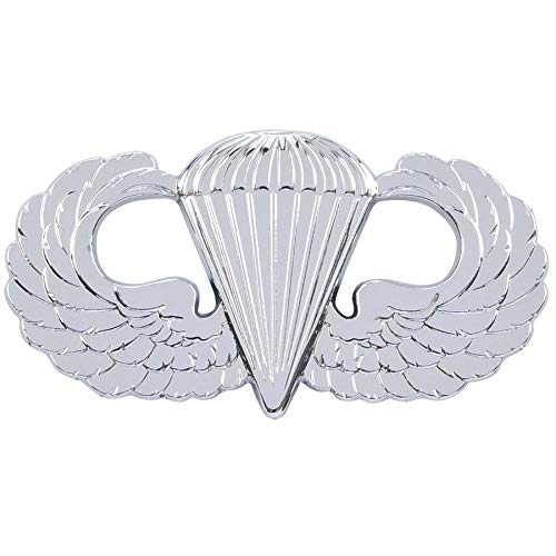 (Medals of America Airborne Wings (Jump Wings) Officially Licensed Car Emblem Multicolored)