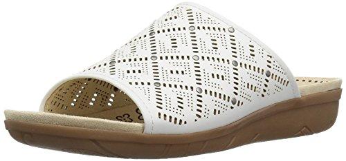 Blanco Traps Talla Mujeres Zapato Bare Destalonado BgTFqxPP