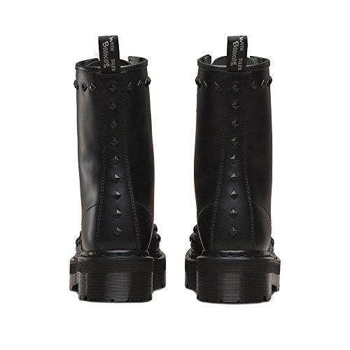 Black Smooth 1490 Stud Martens Dr qwvSO0xBt5