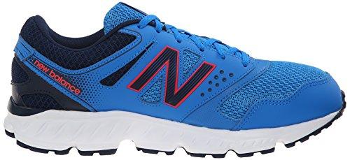 Nuovo Equilibrio Mens M675v2 Scarpa Da Corsa Blu / Rosso