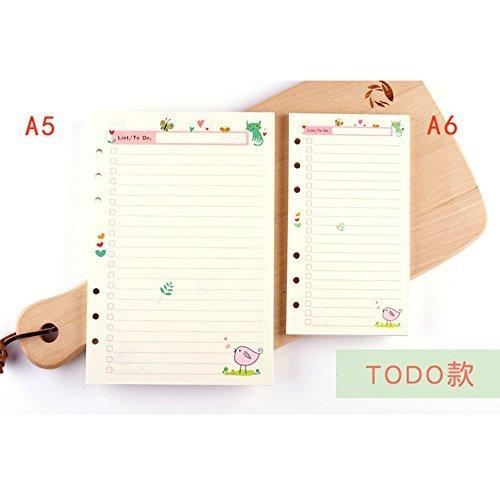 Amazon.com: dadacrafts (TM) A5/A6 Cute lista de tareas ...