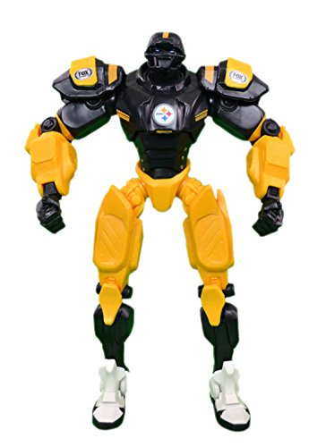 Official National Football Fan Shop Authentic NFL Fox Sports Cleatus Robot (Pittsburgh Steelers) ()