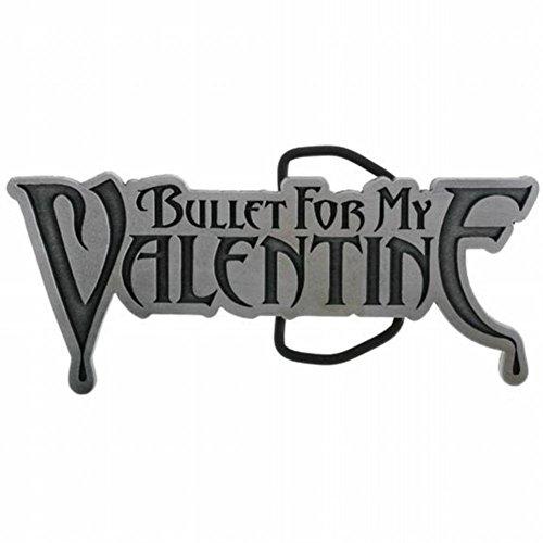 Bullet For My Valentine - Mens - Logo Belt Buckle Silver - Bullet Logo Belt Buckle