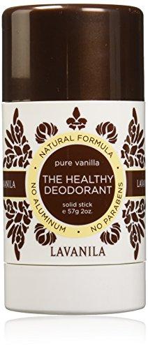 Lavanila The Healthy Deodorant, Pure Vanilla, 2 Fluid ()