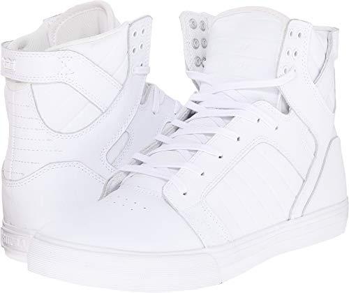 Supra Skytop Skate Shoe White, 16 Regular US - Muska Skytop Skate Shoes