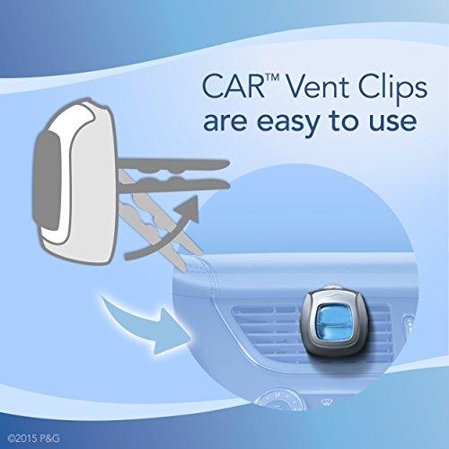 Febreze CAR Vent Clip Hawaiian Aloha Air Freshener (2 Count, 0.13 Fl. Oz.) (Pack of 8)