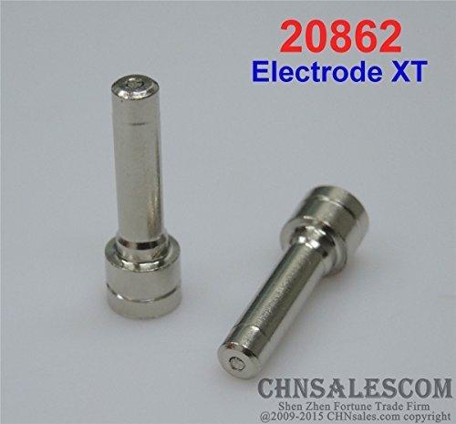 CHNsalescom 10 pcs PT-31 XT Electrodes Plasma Cutter Cutting Torch 30-50 Amp. No.20862