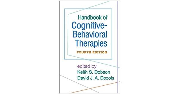 Amazon.com: Handbook of Cognitive-Behavioral Therapies ...