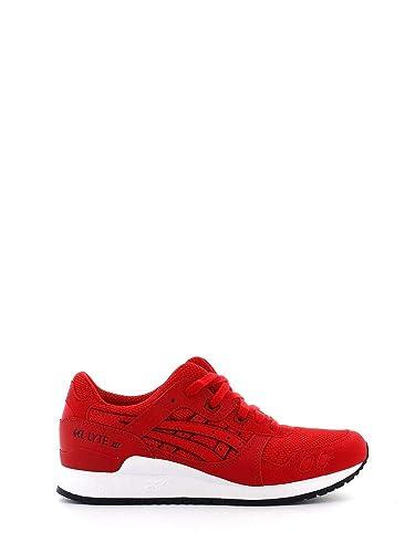 8041b416e12bdb asics Gel-Lyte III Schuhe Sneaker Turnschuhe Rot HN6A3 2525  Amazon ...