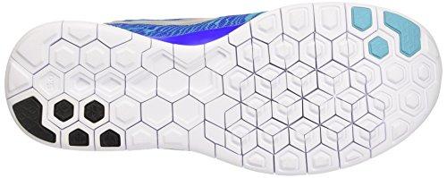 Nike Free 5.0 Print - Zapatillas de running, Hombre Azul / Gris / Blanco (Rcr Bl / Rflct Slvr-Gmm Bl-White)