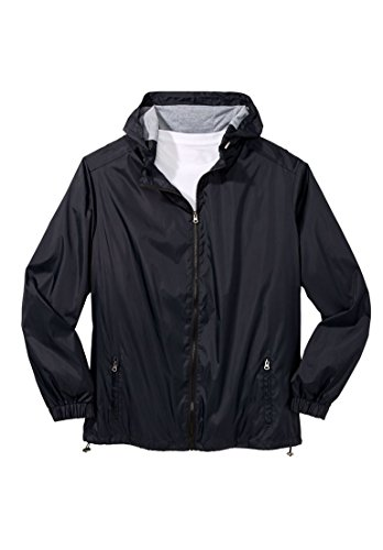 Kingsize Mens Tall Flyweight Windbreaker