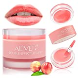 Lip Sleeping Mask, with Lip Scrubs Exfoliator