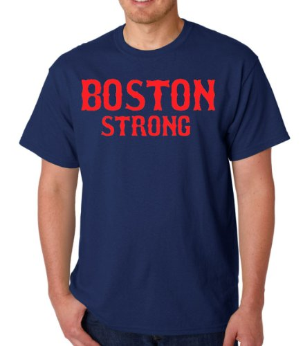 New Boston Strong Adult State T-Shirt Tee