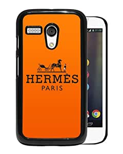Fashionable And Unique Designed Case For Motorola Moto G With Hermes 26 Black Phone Case