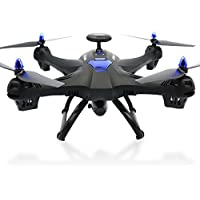 Owill Global Drone 6-Axis 4 CH X183 With 2MP WiFi FPV HD Camera GPS Brushless Quadcopter (Black)