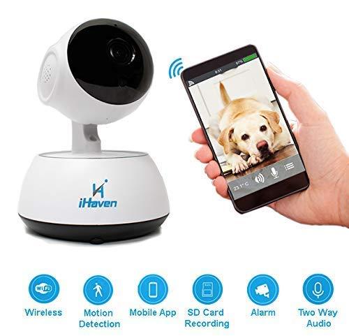 digitale audio video cameretta neonato monitor Fotocamera Wi-Fi HD VISIONE NOTTURNA due vie Sistema iHaven
