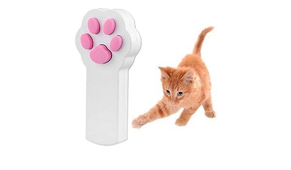 WINOMO pata estilo gato Catch la Interactive LED luz puntero ejercicio Chaser juguete Animal rascar Herramienta de formación: Amazon.es: Productos para mascotas