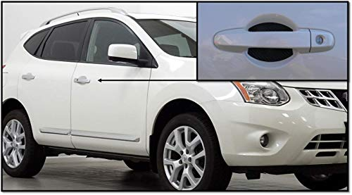 Door Handle Trim Magnetic Door Cup Paint Scratch Protector Cover Accessories for Nissan Rogue(4pc) Made in USA