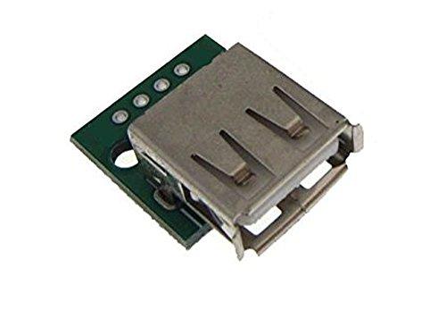 USB Type A Female Receptacle Breakout board by Atomic Market