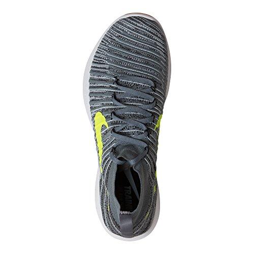 Scarpe volt Ginnastica da Black Grey Force cool Train Flyknit Free Wolf Nike Grey Uomo 4q0O4X