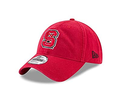 New Era NC State Wolfpack Campus Classic Adjustable Hat - Team Color, by New Era