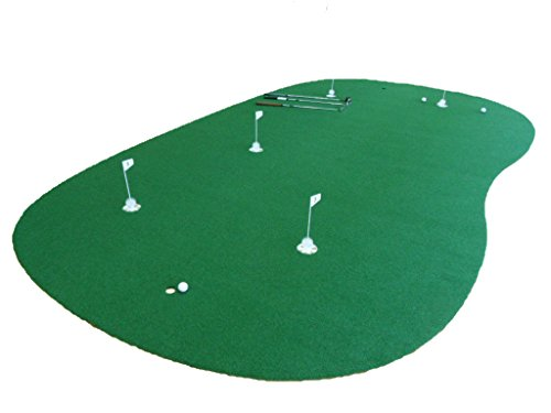 StarPro 9ft x 15ft 5-Hole Professional Practice Putting Green