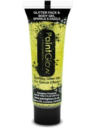 Paint Glow Glitter Face & Body Gels 10ml-gold