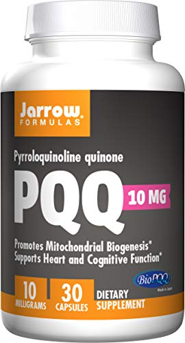 Jarrow Formulas Pyrroloquinoline Quinone, Supports Heart and Cognitive Function, 10 mg, 30 Caps