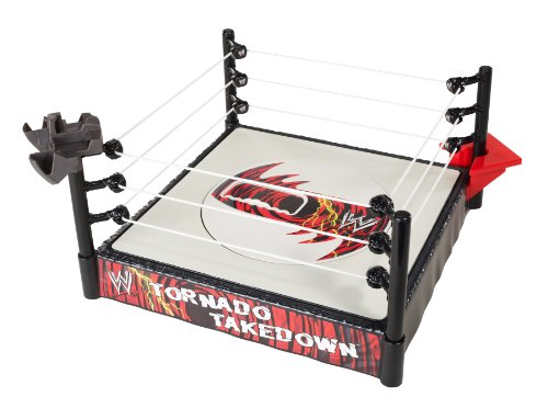 WWE FlexForce Tornado Takedown Ring by Mattel