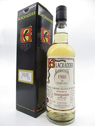 インヴァーゴードン グレーン 29年 1988 リフィルシェリー ホグスヘッド ロウカスク (ブラックアダー) 51.5度 700ml B07L3J51NG
