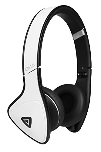 Monster DNA On-Ear Headphones (White Tuxedo)