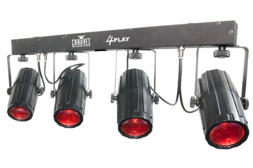 (Chauvet 4PLAY Bar (4) RGB Color Moonflower LED Lights (Renewed))
