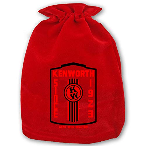 Christmas K Whopper Drawstring Gift Bags 1 Pack, Santa Sack for Party Favors and Candy -